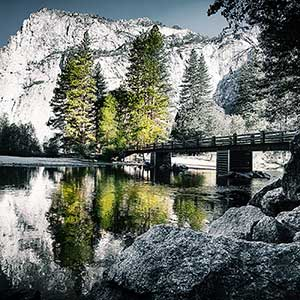 Wallpaper «Morning at Yosemite» kf Photography