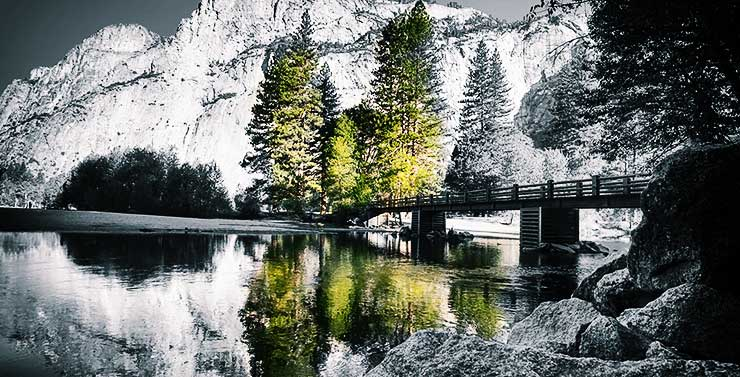 "Wallpaper ""Morning at Yosemite"" kf Photography"