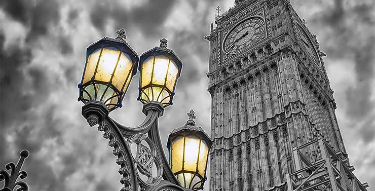 Evening atmosphere Image from Big Ben in London by kfPhotography