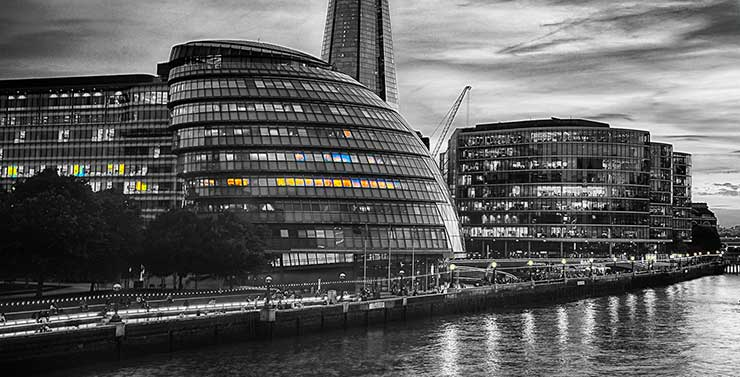 Evening at LondonBridgeCity by kf Photography