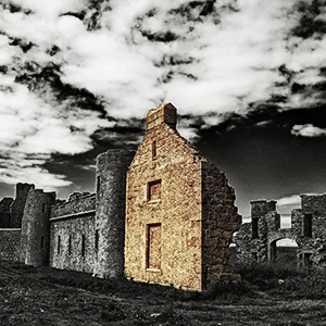 Ruins of New Slains Castle von Kurt Flückiger Photography
