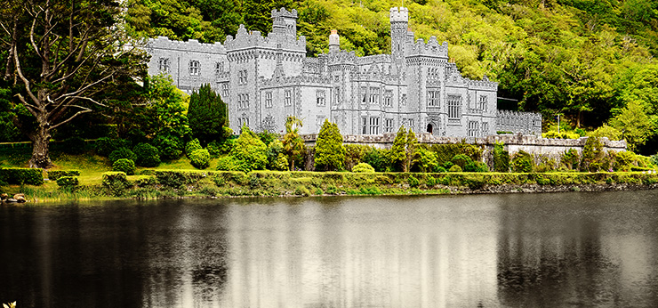 image from Ireland's Beautiful Kylemore Abbey