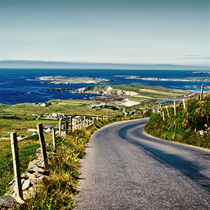 image from Ireland's Beautiful Sky Road