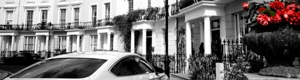 Paddington location: the home of the Brown family: Chalcot Crescent