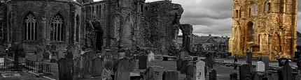 Ruins of Elgin in Schottland von Kurt Flückiger Photography