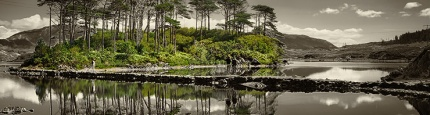 image from Ireland's Beautiful Twelve Pines